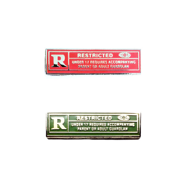 Rated R Pin