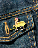 Zack Fox Hot Dog Pin