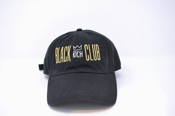 Black Rich Club Dad Hat