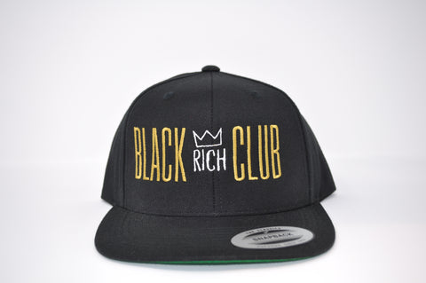 Black Rich Club Snapback