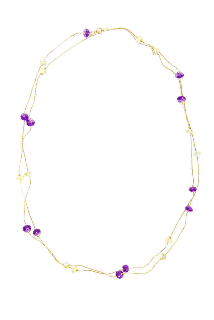 Couleurs French Necklace - Inaya Jewelry