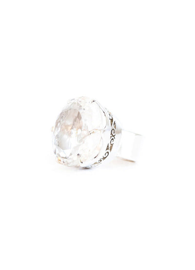 Himalayan Crystal Ring Large - Inaya Jewelry
