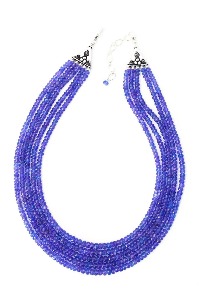 Precious Strand Tanzanite Necklace