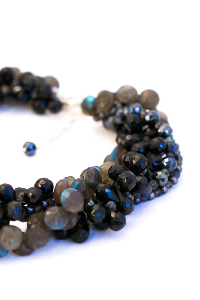 Dazzle Color Black Spinel Necklace - Inaya Jewelry