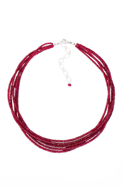 Ruby Necklace - Inaya Jewelry