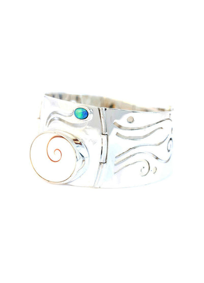 Shiva's Eye & Black Opal Bracelet - Inaya Jewelry