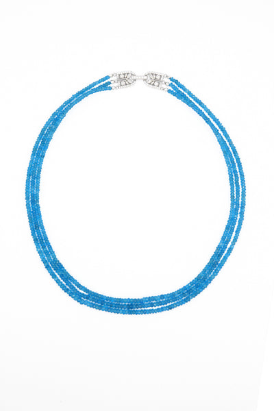 Apatite Strand Necklace - Inaya Jewelry