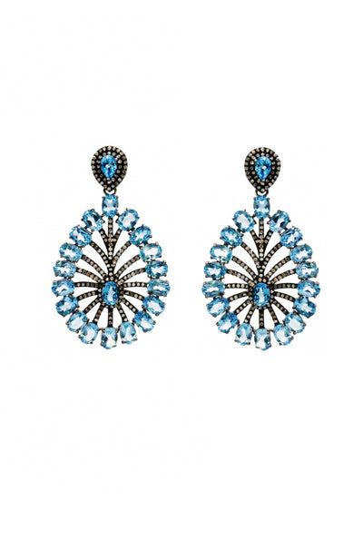Blue Peacock - Inaya Jewelry