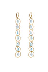 Eternal Topaz Earrings - Inaya Jewelry
