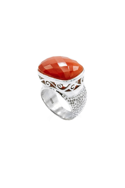 Carnelian Ring - Inaya Jewelry