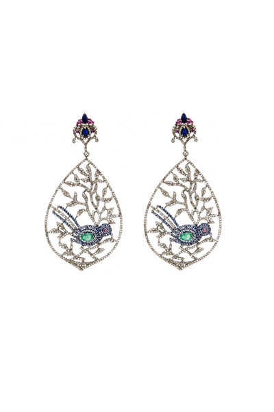 Two Little Blue Birds - Inaya Jewelry
