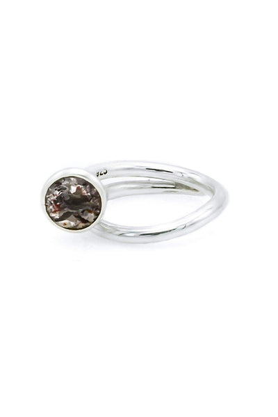 Elestial Quartz Swirl Ring - Inaya Jewelry
