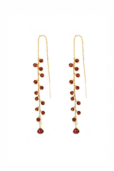 Garnet Seeds - Inaya Jewelry
