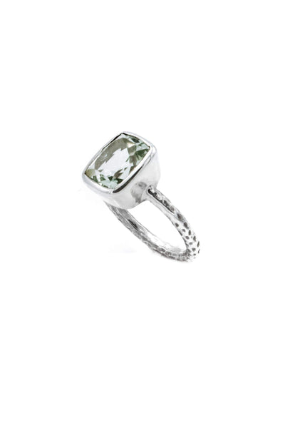 Green Amethyst Ring - Inaya Jewelry