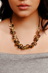Honey Cluster Necklace - Inaya Jewelry