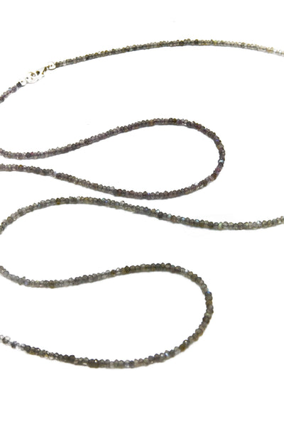Long Labradorite Necklace - Inaya Jewelry