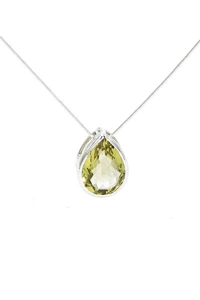 Lemon Topaz Pendant - Inaya Jewelry