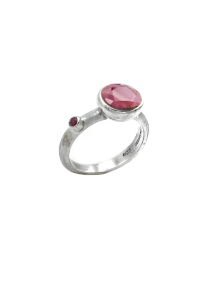 Pink Ruby Ring - Inaya Jewelry