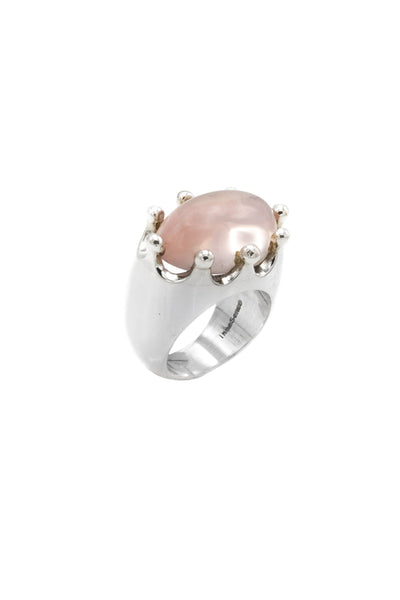 Rose Quartz Ring - Inaya Jewelry