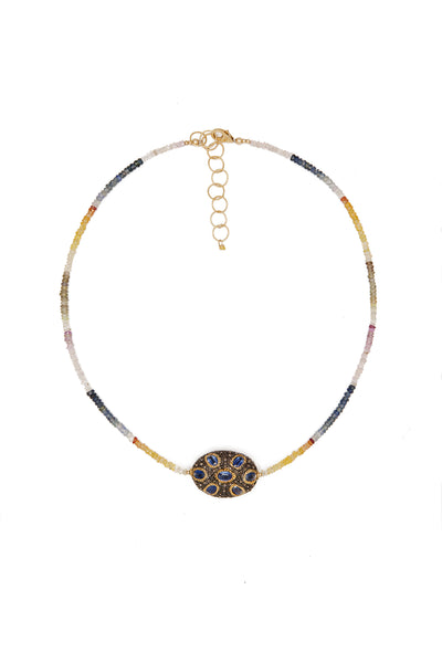 Rainbow Medallion - Inaya Jewelry