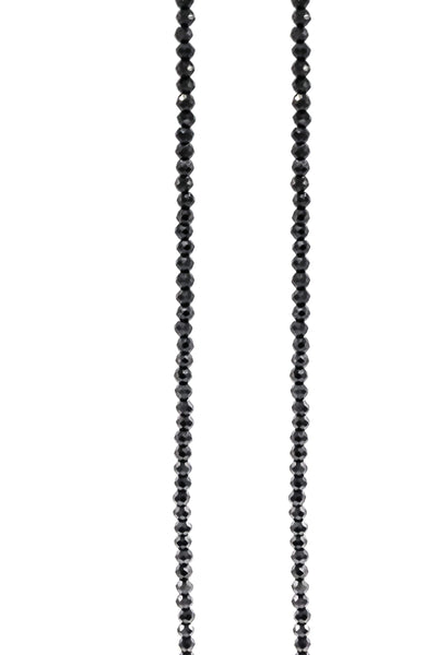Black Spinel Necklace - Inaya Jewelry