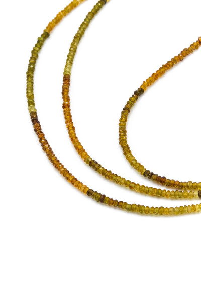 Petro Tourmaline Strand Necklace - Inaya Jewelry