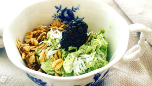 Japanese Kato Matcha Coconut Whip Recipe from Toronto Canada Wholesale Tea Retailers Genuine Tea