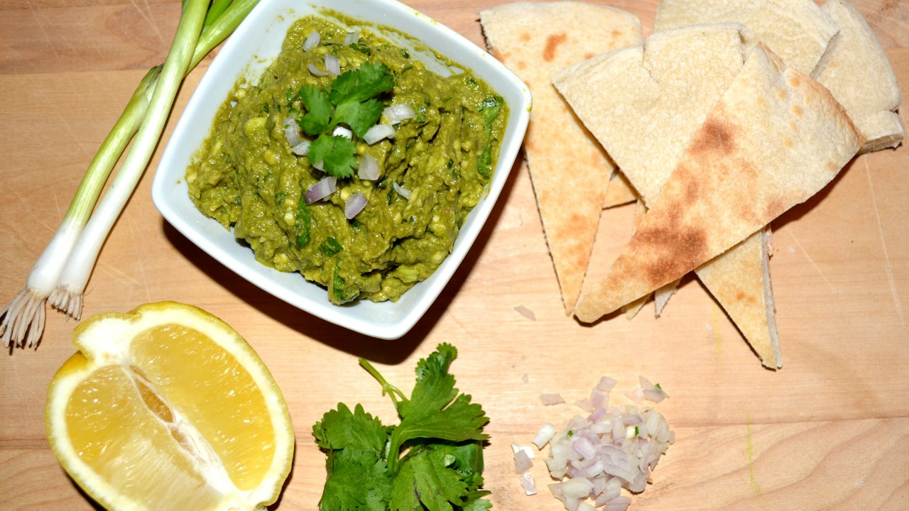 Spring Herb Japanese Kato Matcha Guacamole Recipe from Wholesale Tea Retailers Genuine Tea