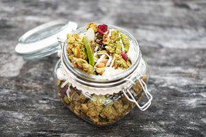 Holiday Matcha Granola