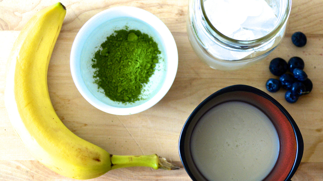 genuine tea toronto matcha smoothie