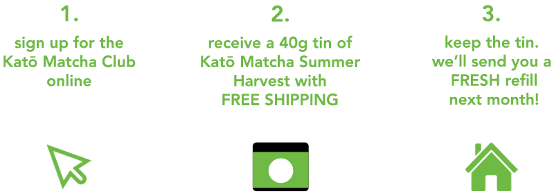 kato matcha club