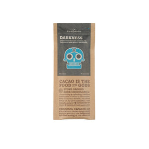 Darkness + 75% Dark Chocolate Bar - Genuine Tea