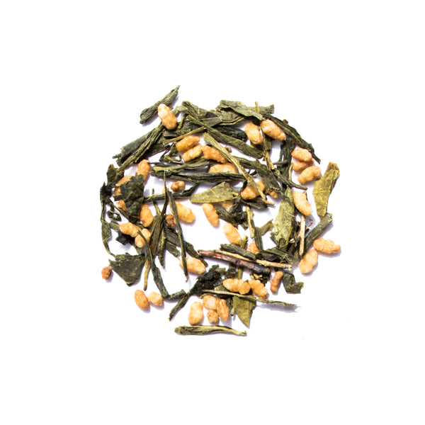 Organic Genmaicha genuine tea