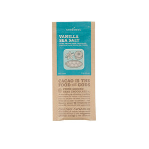 Vanilla Sea Salt + 65% Dark Chocolate Bar - Genuine Tea