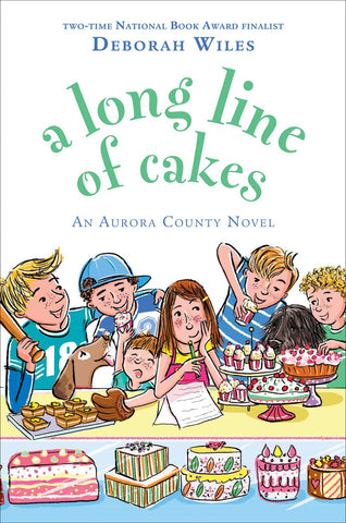 Long Line of Cakes