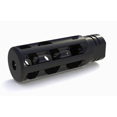 .308 Muzzle Brake Black Nitride Stainless Steel