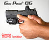 Opposable Grip thumb rest  on Sig P320