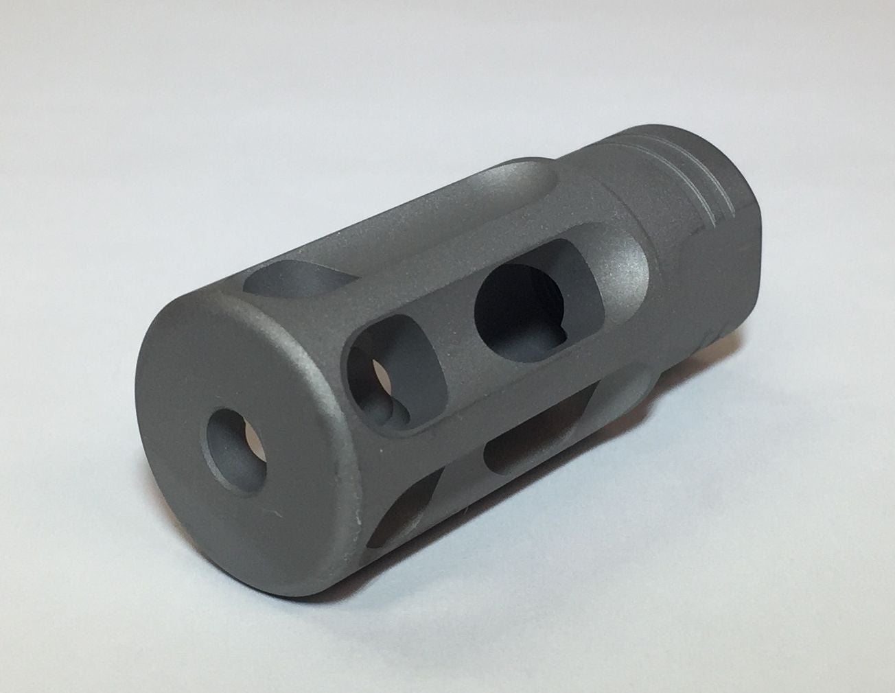 SuperComp® NT  223 Muzzle Brake 5 56 Titanium Stealth Gray (sku323T)