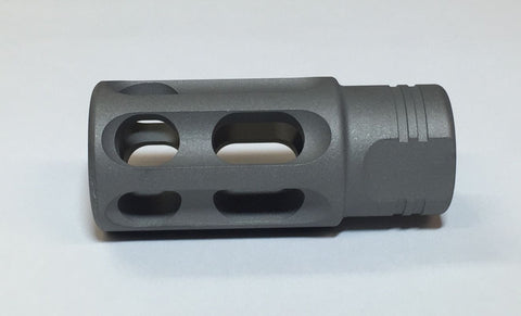 .223 No Talon Muzzle Brake Stealth Gray Titanium
