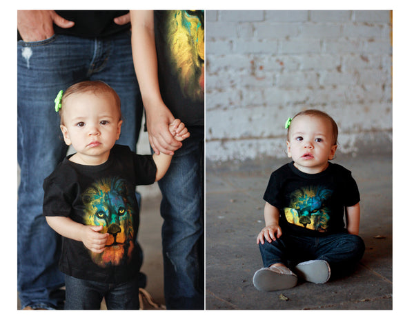 Lion of Judah T-shirt - Children's sizes