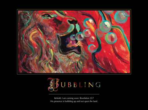 Bubbling Poster