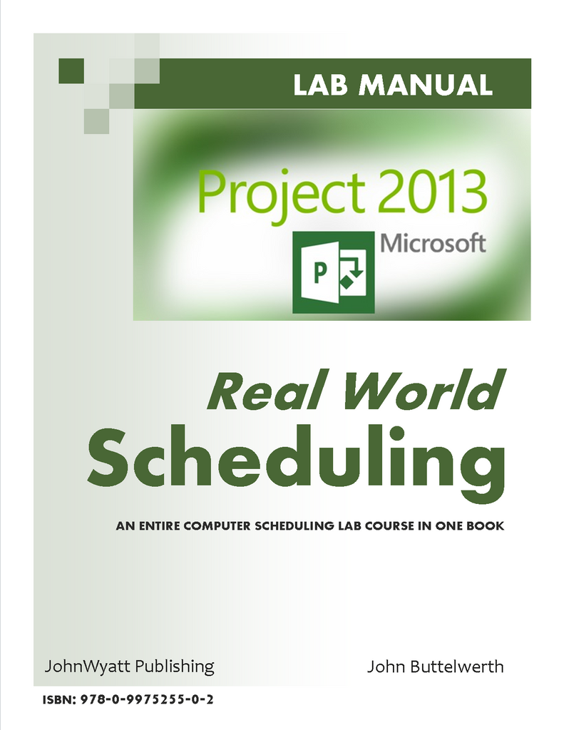 Microsoft Project 2013 - Real World