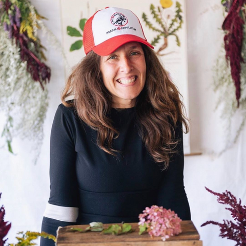Herbal Revolution Founder, Formulator, and CEO Katheryn Langelier Kathi Langelier, Maine herbalist, organic sustainable farmer, and author