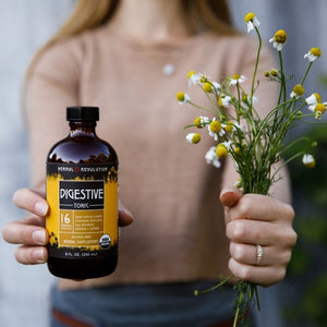 Fresh Chamomile Digestive Tonic Herbal Revolution Organic Liver Cleanse Detox