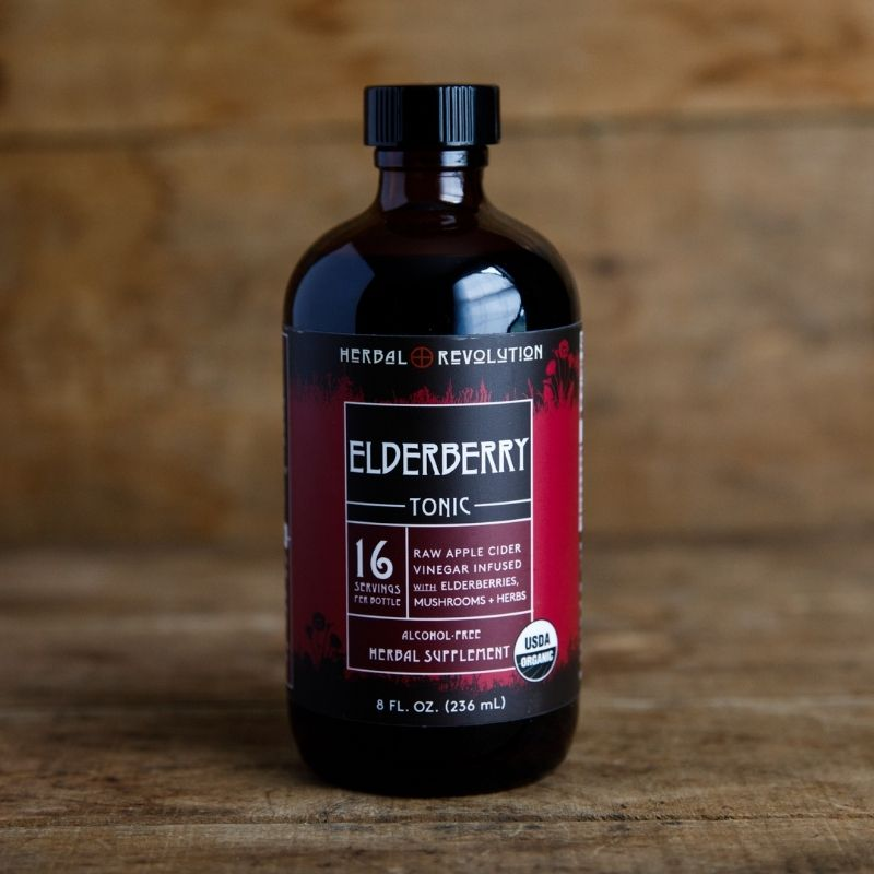 Elderberry Tonic, 8oz