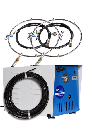 2 x FAN RETROFIT KIT - High Pressure Misting Kit