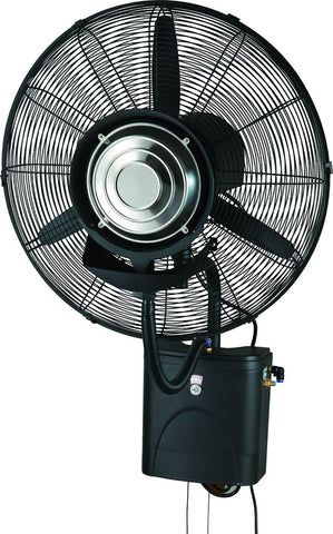 650mm Wall Mounted PatioMist - Misting Fan