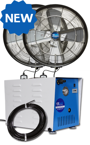 *NEW* KTW OUTDOOR FAN - 2 x 600mm High Pressure Kit