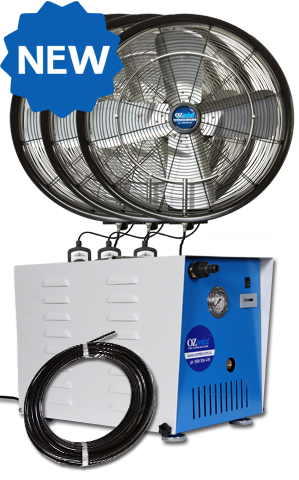 *NEW* KTW OUTDOOR FAN - 3 x 600mm High Pressure Kit