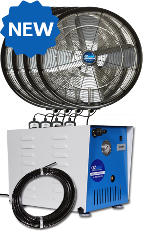 *NEW* KTW OUTDOOR FAN - 4 x 600mm High Pressure Kit